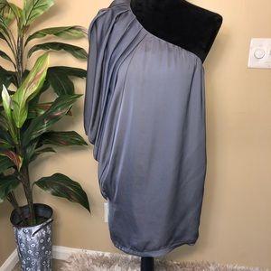 ‼️‼️ Lush Asymmetrical Silver Dress